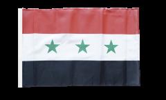 Flagge mit Hohlsaum Irak ohne Schrift 1963-1991