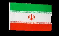 Flagge mit Hohlsaum Iran