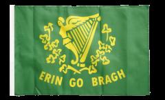 Flagge mit Hohlsaum Irland Erin Go Bragh