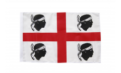 Flagge Italien Sardinien - 30 x 45 cm