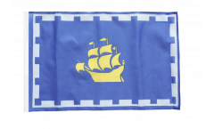 Flagge mit Hohlsaum Kanada Stadt Quebec