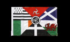 Flagge Keltische Nationen Pankeltisch - 30 x 45 cm