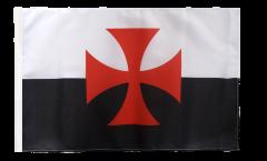 Flagge mit Hohlsaum Kreuzritter Kreuz