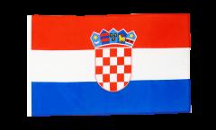 Flagge mit Hohlsaum Kroatien