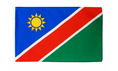 Flagge mit Hohlsaum Namibia