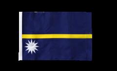 Flagge mit Hohlsaum Nauru