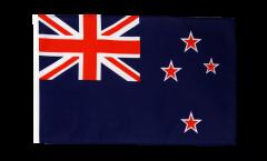 Flagge mit Hohlsaum Neuseeland