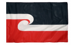 Flagge mit Hohlsaum Neuseeland Maori