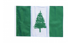 Flagge mit Hohlsaum Norfolk Inseln