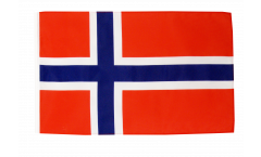Flagge mit Hohlsaum Norwegen