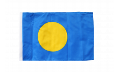 Flagge mit Hohlsaum Palau