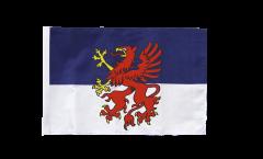 Flagge mit Hohlsaum Pommern