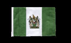 Flagge mit Hohlsaum Rhodesien