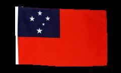 Flagge mit Hohlsaum Samoa
