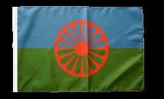 Flagge mit Hohlsaum Sinti und Roma