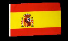 Flagge mit Hohlsaum Spanien