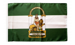 Flagge Spanien Andalusien - 30 x 45 cm