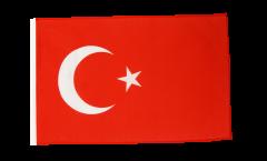 Flagge mit Hohlsaum Türkei