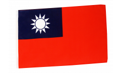 Flagge mit Hohlsaum Taiwan