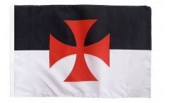 Flagge mit Hohlsaum Tempelritter