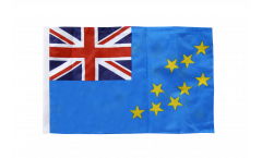 Flagge mit Hohlsaum Tuvalu