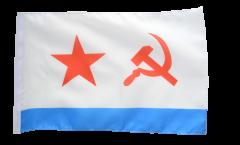 Flagge mit Hohlsaum UDSSR Sowjetunion Marine