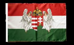 Flagge mit Hohlsaum Ungarn Königreich 1867-1918
