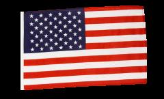 Flagge mit Hohlsaum USA