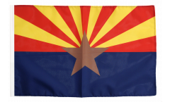 Flagge mit Hohlsaum USA Arizona