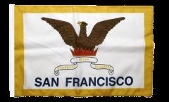 Flagge mit Hohlsaum USA City of San Francisco