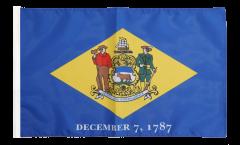 Flagge mit Hohlsaum USA Delaware