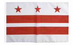 Flagge mit Hohlsaum USA District of Columbia