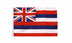Flagge mit Hohlsaum USA Hawaii