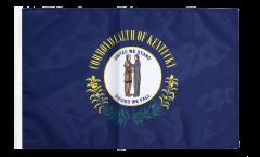 Flagge mit Hohlsaum USA Kentucky