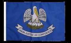 Flagge mit Hohlsaum USA Louisiana