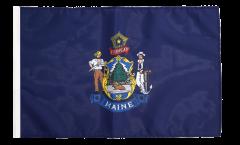 Flagge mit Hohlsaum USA Maine