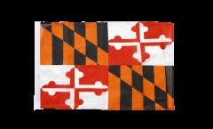 Flagge mit Hohlsaum USA Maryland
