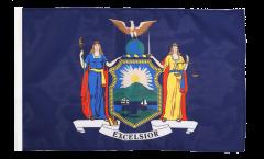 Flagge mit Hohlsaum USA New York