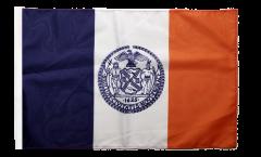 Flagge mit Hohlsaum USA New York CITY