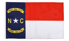 Flagge mit Hohlsaum USA North Carolina