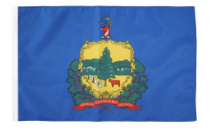 Flagge mit Hohlsaum USA Vermont