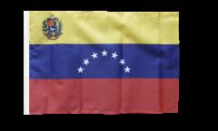 Flagge Venezuela 7 Sterne mit Wappen 1930-2006 - 30 x 45 cm