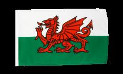 Flagge mit Hohlsaum Wales