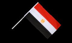 Stockflagge Ägypten