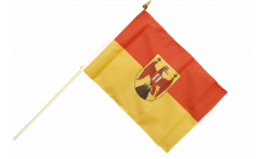 Stockflagge Österreich Burgenland