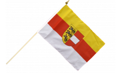 Stockflagge Österreich Kärnten - 30 x 45 cm
