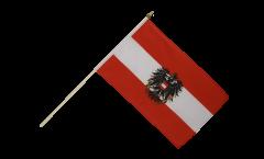 Stockflagge Österreich mit Adler