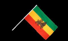 Stockflagge Äthiopien alt