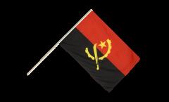 Stockflagge Angola