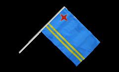 Stockflagge Aruba